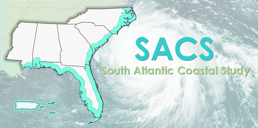 SACS South Atlantic Coastal Study map graphic